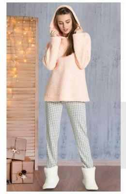 Welsoft Kışlık 2li Pijama Takımı Dowry 09-861