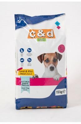 Hayal  Sepeti Yetişkin Köpek Maması 15KG  KUZU ETLİ YENİ ÜRÜN   PREMİUM OMEGA 3&6