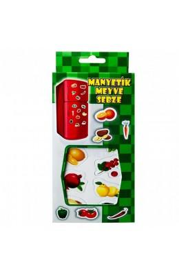 Manyetik Meyve Sebze, 52 Parça