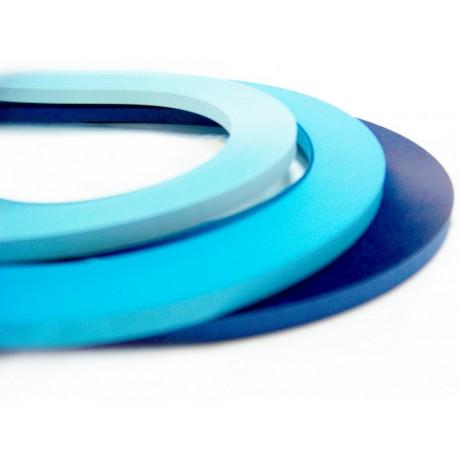 Okyanus Serisi 3 Farklı Ton Mavi Renkli 300 Adetli Quilling Kağıdı