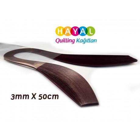 Quilling Kağıdı - Vişne Renk 3mm 100lü-3mm Quilling Kağıtları 100 Adetli