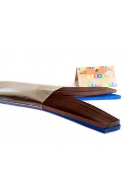 Quilling Kağıdı - Kahverengi ve Lacivert Renk 200'lü