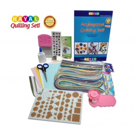 Profesyonel Quilling Seti - Set No: 2-Quilling Setleri