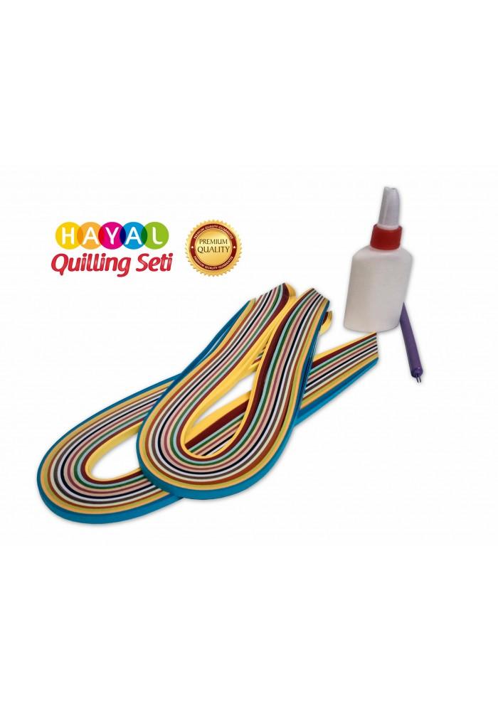 Quilling Mini Başlangıç Seti 2-Quilling Başlangıç Seti -  Yeni Başlayanlar İçin