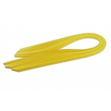 Quilling Seti Tek Renk - Sarı Renk 5mm x 50cm 100'lü