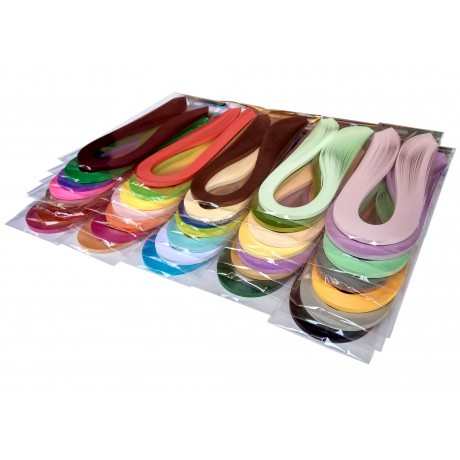 Hayal 36 Farklı Renkli Quilling Kağıt Seti 3mm